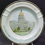 Federation Of Women's Clubs 1954 Ashtray Denver Co