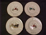 Sabina 1950s Advertising Ashtrays Set Of 4