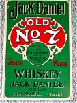 Jack Daniels Porcelain Sign