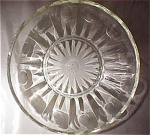 Depression Glass Lime Green Candy Dish