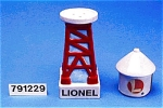 Lionel Water Tower Salt & Pepper