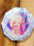 Marilyn Monroe Collector Plate, Diamond Girl