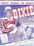 Bing Crosby, Sunday, Monday Or Always, Dixie
