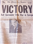 Victory, Full Surrender Ends War In Europe