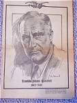 Pictorial Review Newspaper, Fdr, 1882 To 1945