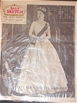 Queen Elizabeth 2nd, June 2, 1953 Newspaper