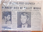 Kennedy Dies Of Bullet Wound, June 6, 1968