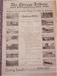 1925 Chicago Tribune Travel Section