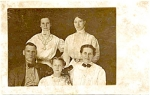 Early 1900's Real Family Photo Postcard