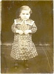 Early 1900's Real Child Photo Postcard