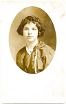 Early 1900's Real Life Portrait Postcard