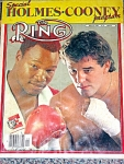 Ring Magazine 1982, Holmes And Cooney Fight