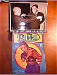 Ring Magazine, 1943 Henry Armstrong & Photo