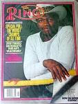 Ring Magazine May 1981, John Tate