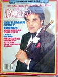Ring Magazine January 1981, Gerry Cooney