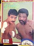 Ring Magazine November 1982, Alexis Arguello And Pryor