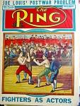 Ring Magazine November 1943, The Mendoza-humphrey Fight
