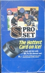 1990 Full Box Of Nhl Pro Set Hockey Cards