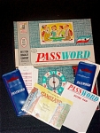 1962 Milton Bradley Game, Password #4260