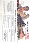1957 Lionel Ho Train Catalog
