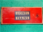 Post War Lionel Box Only, #6014 Boxcar