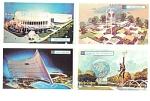 Set Of 26 Original Worlds Fair Cards