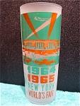 1964 Ny Worlds Fair Glass Of Shea Stadium