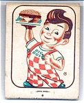 Big Boy Hamburger Advertising Matches