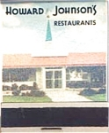 Howard Johnson Motor Lodge And Restaurant F S Matches