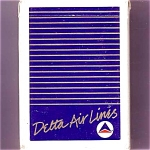 Delta Airlines Widget Playing Cards