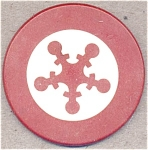 Inlaid Clay Poker Chip