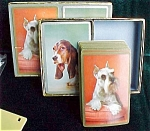 Double Deck Congress Playing Cards- Beagle And Scottie Dog