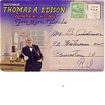 Ft Myers Florida Edison Winter Home Souvenir Folder