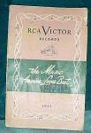 Rca Victor 1951 Catalog Music America Loves