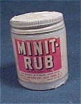 Bristol Meyers - Minit Rub Jar Mint