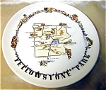 Cookesville Pottery Yellowstone Souvenir Plate