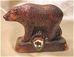 Vintage Copper Finished Metal Yellowstone Park Bear