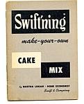 Make Your Own Swiftning Cake Mix Leaflet