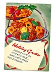 Vintage Armour Co Cookbook - Holiday Goodies