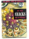 1950 Culinary Arts 500 Snacks Cookbook