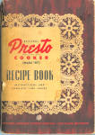1947 Presto Model 40 Pressure Cooker Cookbook