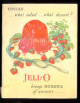 1928 Jello Recipe Booklet