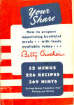 Betty Crocker 1943 Your Share Cookbook