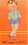Little Boy All Occasion Postcard