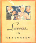 1934 Sucess In Seasoning By Lea And Perrins