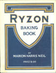 1917 Ryzon Baking Book Cook Book