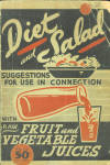 Diet And Salad Suggestions - 1940