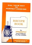 Presto Fry Pan Griddle Recipe Instruction Book