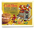 Pillsbury Gift Box Butter Cookie Cookbook Leaflet