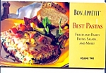 Bon Appetit, Best Pastas Cookbook Volume 2